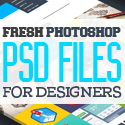 Post thumbnail of Free PSD Files: 36 Fresh Photoshop PSD Files for Designers