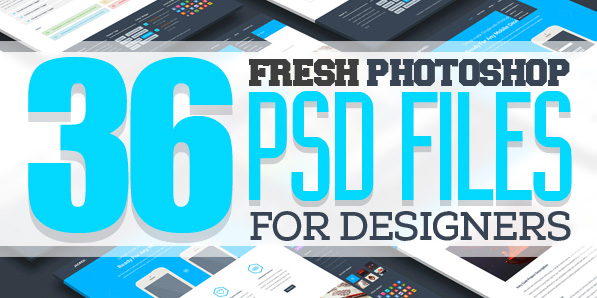Free PSD Files: 36 Fresh Photoshop PSD Files for Designers ...