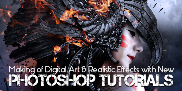 Digital Art Character Design Tutorial : Photoshop tutorials to making of realistic effects photo