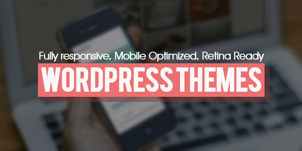 Responsive, Mobile Optimized, Retina Ready WordPress Themes