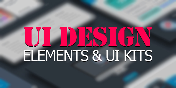 27 Useful UI Design Elements & UI Kits for Designers