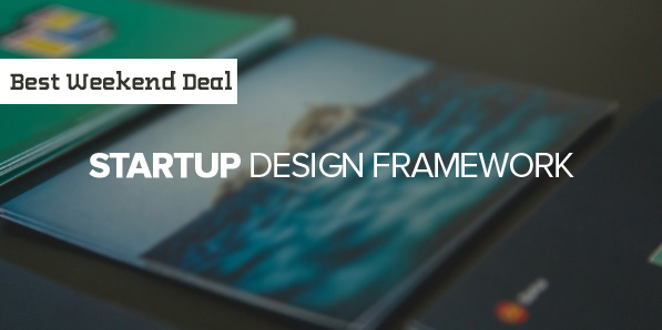 Best Weekend Deal: 20% Off the Startup Design Framework from Designmodo