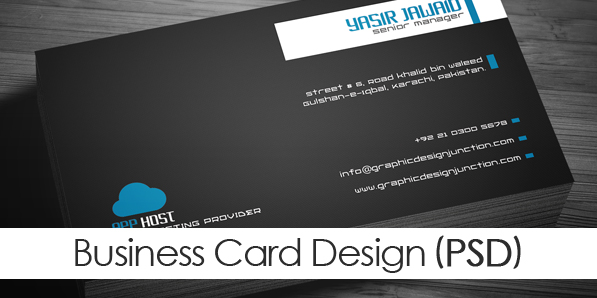 Free Corporate Business Card Mockup (PSD)