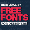Post thumbnail of 18 New Free Fonts for Graphic Designers