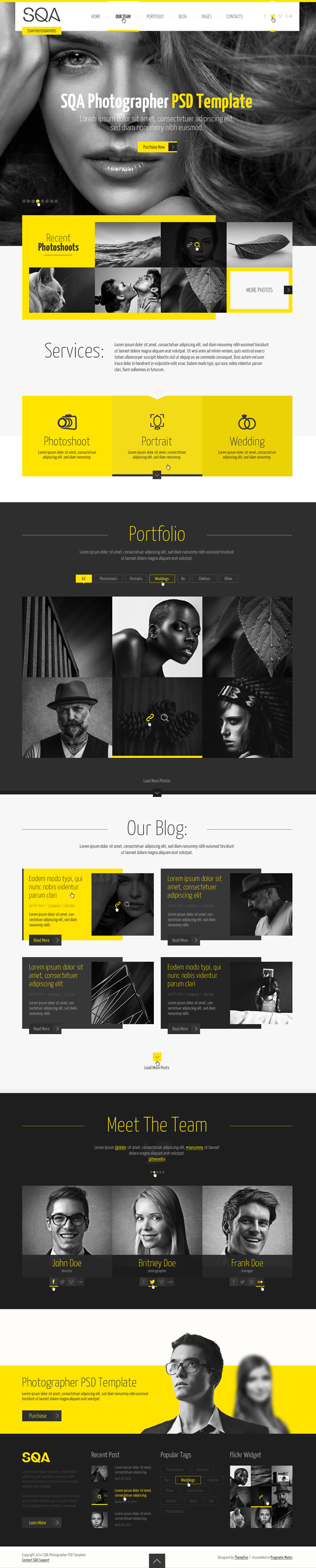 HTML5 One Page Website Templates with UI/UX Experience | Design ...