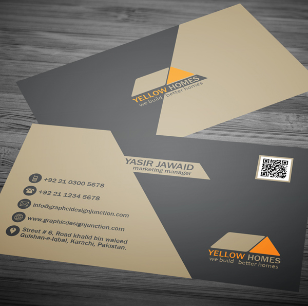 Free real estate business card template psd freebies graphic real estate business card template 2 wajeb Choice Image
