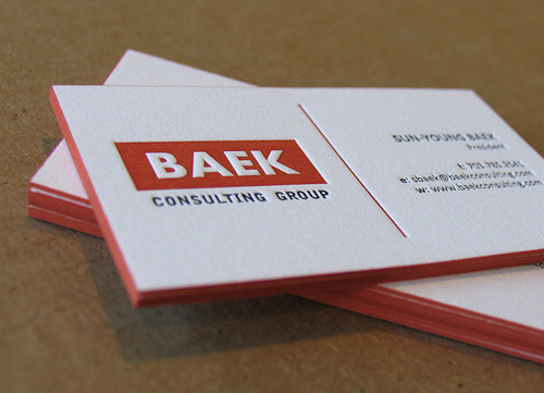 Letterpress Business Cards Design Examples  Design  Graphic