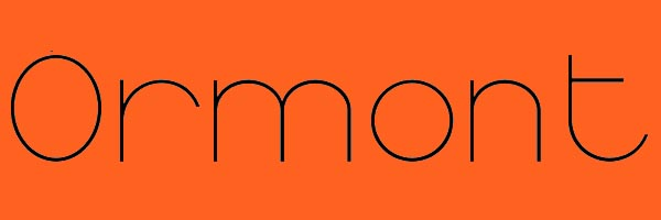 Ormont Font Free Download