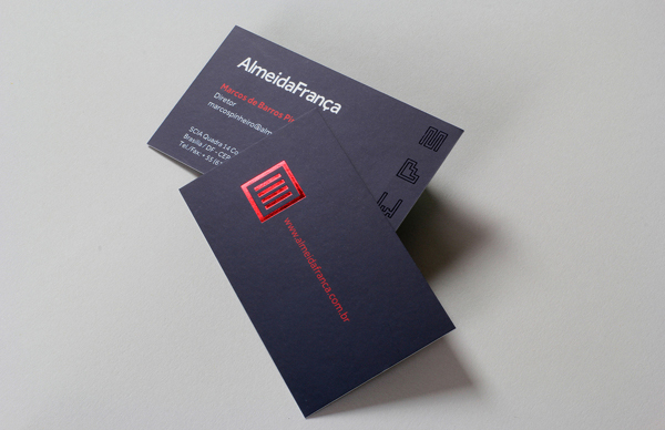 Almeida Franca Branding Business Card