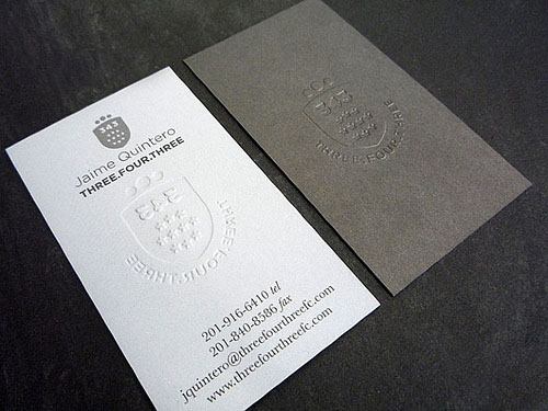 Letterpress business cards design examples design graphic design letterpress business cards design 11 reheart Image collections