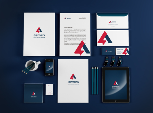 Aemeg Branding Stationery