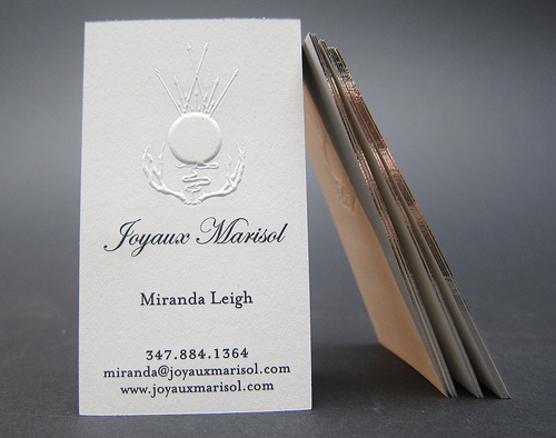 Letterpress business cards design examples design graphic design letterpress business cards design 16 reheart Image collections