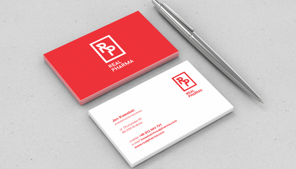Creative branding visual identity and logo design examples design real pharma branding business card colourmoves