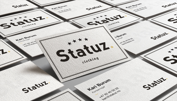 Statuz. Branding Business Card