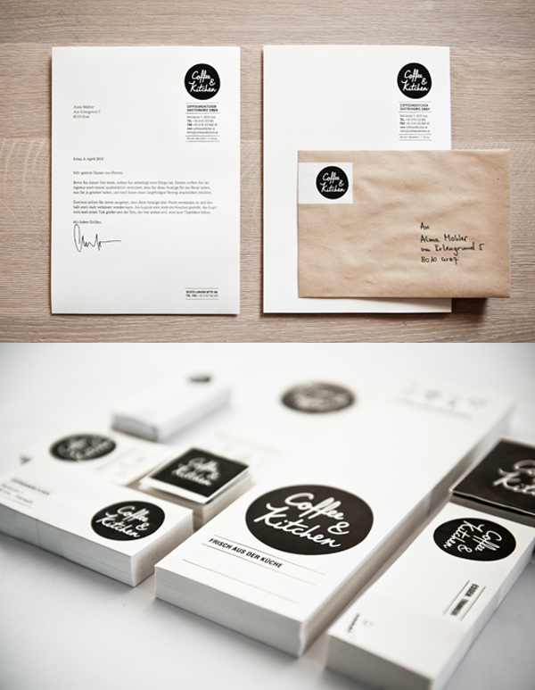 Coffee & Kitchen Branding Stationery