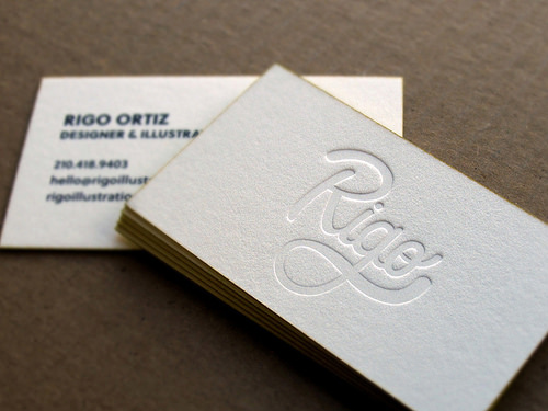 Letterpress business cards design examples design graphic design letterpress business cards reheart Image collections