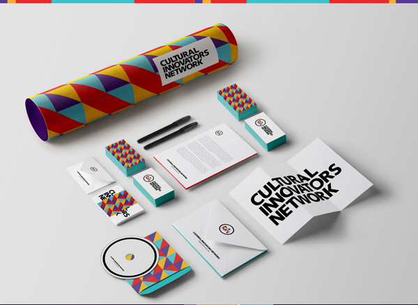 CULTURAL INNOVATORS NETWORK Branding Stationery