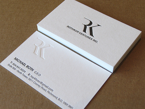 Letterpress business cards design examples design graphic design letterpress business cards design 5 reheart Image collections