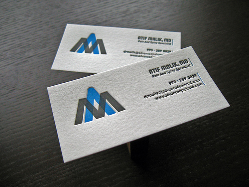 Letterpress business cards design examples design graphic design letterpress business cards design 6 reheart Image collections