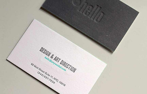 Letterpress business cards design examples design graphic design letterpress business cards design 7 reheart Image collections