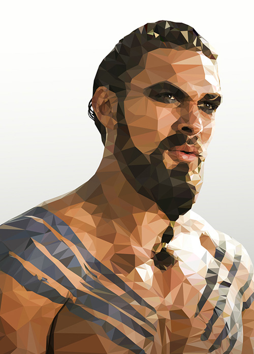 Low-Poly Portrait Illustrations for Inspiration - 8