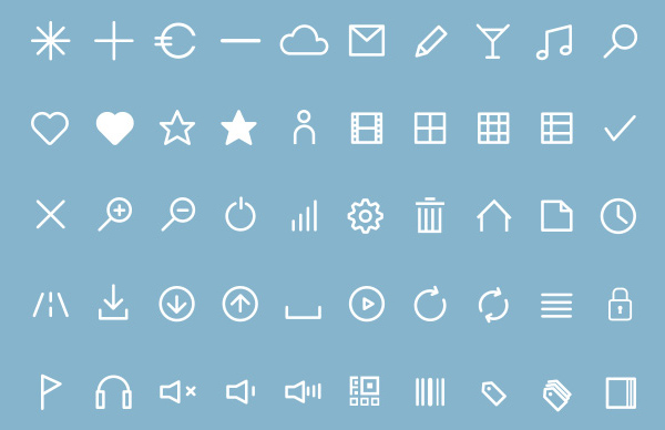 1000+ Free Outline Stroke Icons For Designers | Icons | Graphic