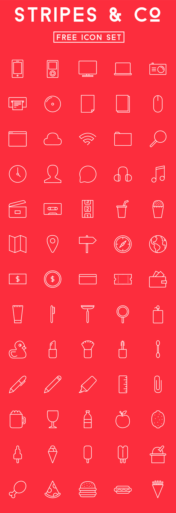 Free icon Set (65 Icons)