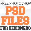 Post thumbnail of Free PSD Files : 30 New PSD Graphics for Designers