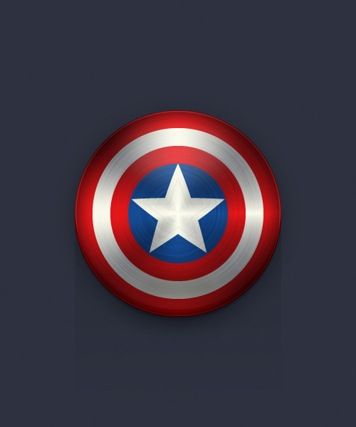 Create the Captain America Shield Icon in Adobe Illustrator