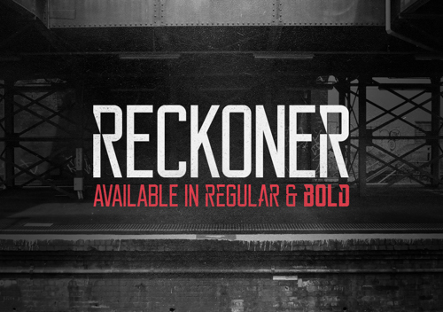 Reckoner Free Fonts