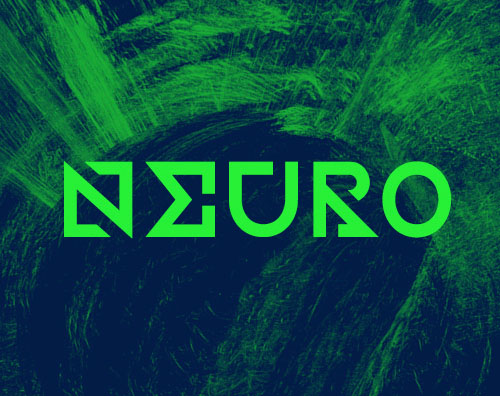 Neuro free font for designers