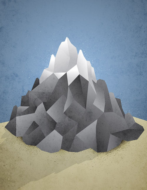 How To Create a Low Poly Art Mountain Illustration in Illustrator