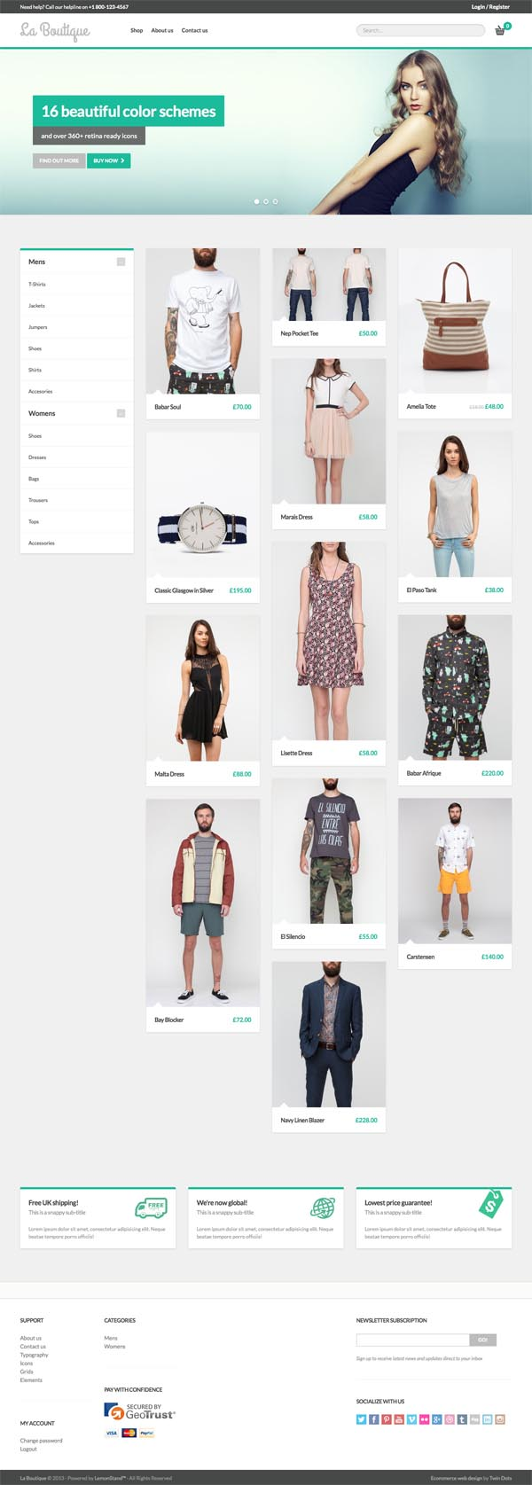 La Boutique – Multi-purpose WooCommerce Theme