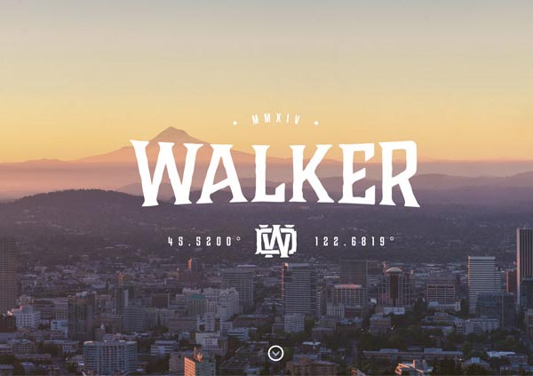 Derek Walker Responsive Website