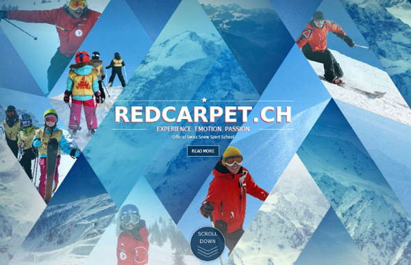 Red Carpet Responsive Website