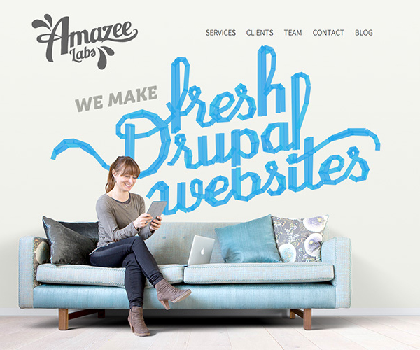 Amazee Labs Responsive Website