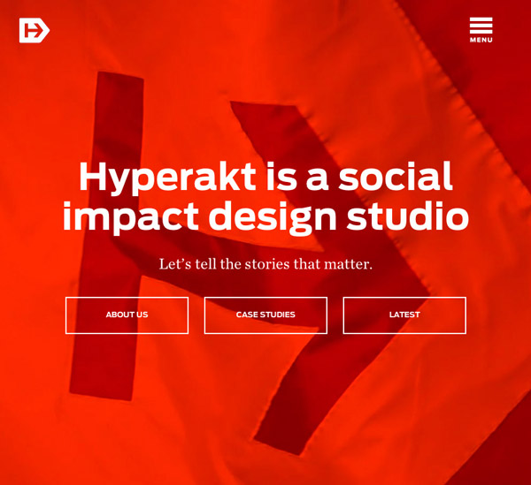 Hyperakt Design Group Responsive Website