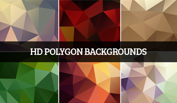 HD Polygon Backgrounds 7 Items