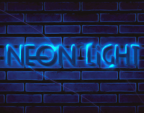 How to Create Unique Neon Text Effect in Photoshop