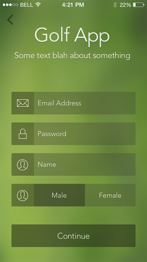 Modern Sign UP / Login Forms UI Designs-11
