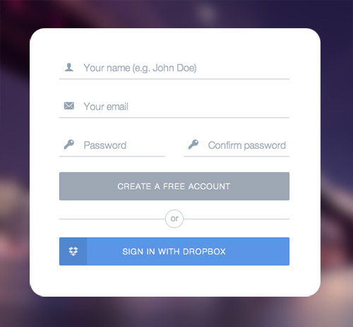 Modern Sign UP / Login Forms UI Designs-12