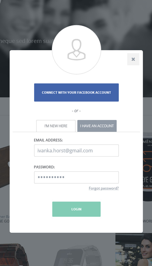 Modern Sign UP / Login Forms UI Designs-16