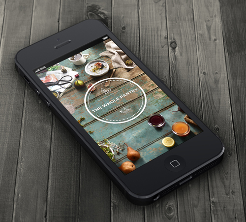 Mobile Apps with Circular Vibe Menus - 18