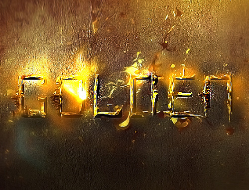 New Text Effects Photoshop Tutorials to Enhance Typography