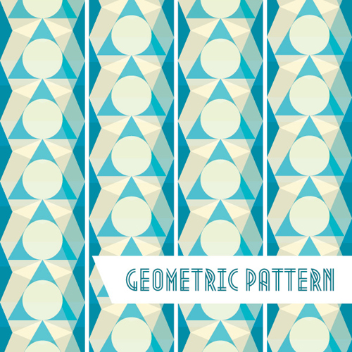 Geometric Pattern Background Vector Graphic
