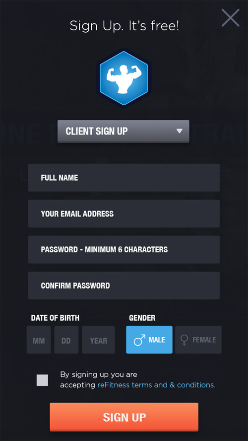Modern Sign UP / Login Forms UI Designs-23