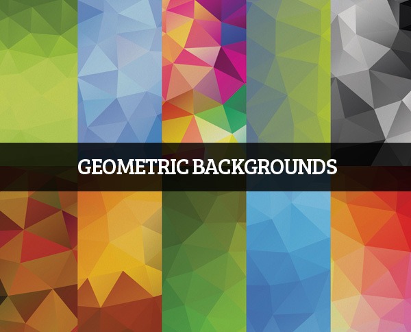 Free Low Poly Geometric And Polygonal Backgrounds