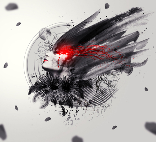 Create the Emotional Abstract Photo Manipulation Photoshop Tutorial