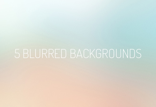 Blurred Backgrounds for iOS 7 apps (5 Items)