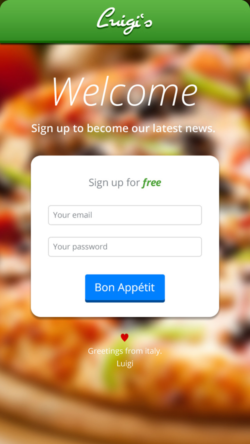 Modern Sign UP / Login Forms UI Designs-6